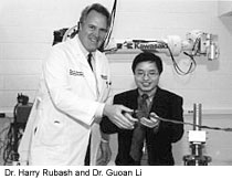 Dr. Harry Rubash and Dr. Guoan Li
